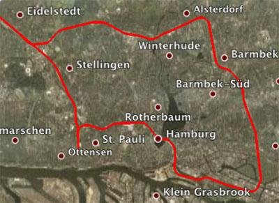 Ringfahrt mit dem Preussenzug