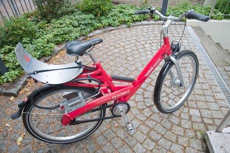 Ein Stadtrad