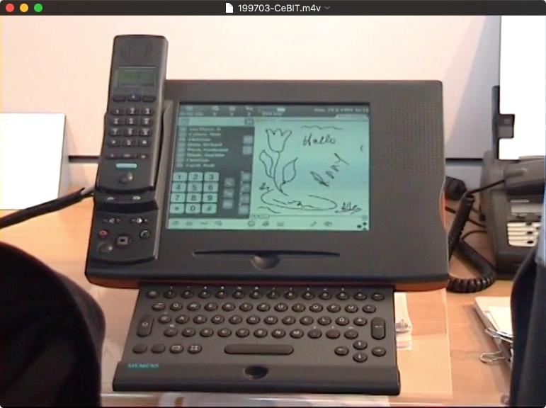 Siemens Newton-Phone
